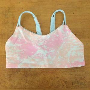 Ivivva Reversible Pink and Blue Bikini Top